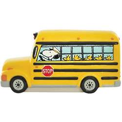 Peanuts School Bus Bank