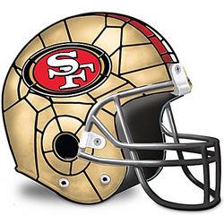 San Francisco 49ers Helmet Accent Lamp
