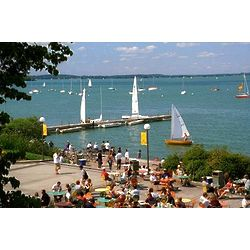Madison's Union Terrace and Summer Boats Poster