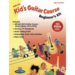 Kid's Guitar Course: Beginner's Kit with CD, DVD, and Book