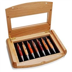 Maple Wood Personalized Pen Gift Set