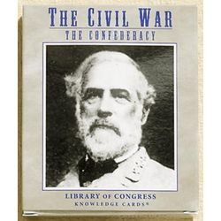 Civil War Knowledge Cards: The Confederacy