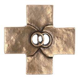 Bronze Wedding Cross