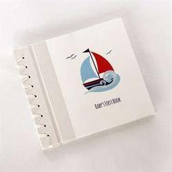 Baby's Sail Away Memory Book