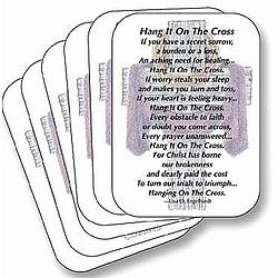 Hang it On The Cross Prayer Cards