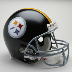 Pittsburgh Steelers 1963-1976 Authentic Full Size Helmet