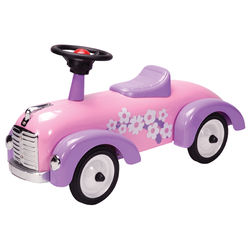1st Birthday Speedster Ride on Toy in Pink and Purple