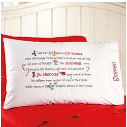 Twas the Night Before Christmas Pillowcase