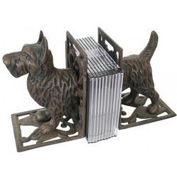 Iron Dog Bookends