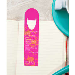 Personalized Bookmark