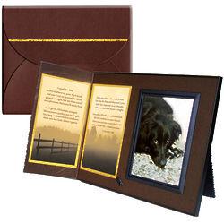 """""""I Loved You Best"""" Pet Sympathy Memorial Frame with Poem"""