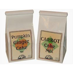Carrot Cake and Pumpkin Ginger Cake Mix Duo