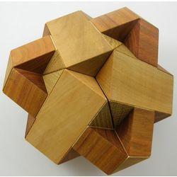 Sputnik Brain Teaser Wooden Puzzle