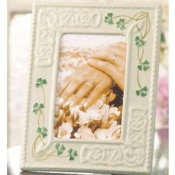 Handcrafted Celtic Knot Tara 4x6 Picture Frame