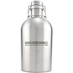 KegWorks Stainless Steel Beer Growler