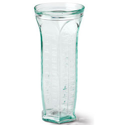 Italian Recycled Glass Measuring Jug