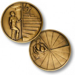 The Staircase Romance and Relationship Coin