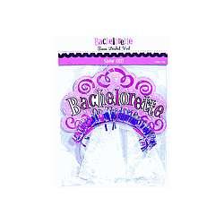 Bachelorette Tiara Bridal Veil