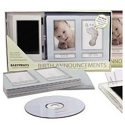 Babyprints Birth Announcement Kit