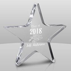 Star-Shaped Personalized Graduation Award