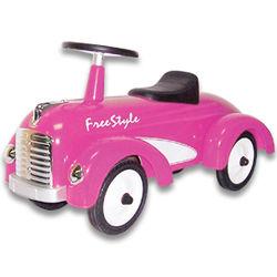 1st Birthday Pink Speedster Freestyle Ride on Toy
