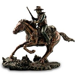 John Wayne Galloping Thunder Sculpture
