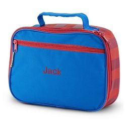 Personalized Red and Blue Lunchbox Gift