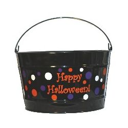 Personalized Halloween Party Bucket
