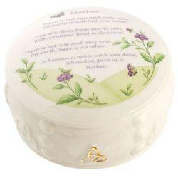 Handcrafted Irish Mother's Trinket Box