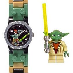 Star Wars Yoda Kids Watch with Yoda Mini Figure