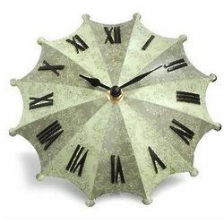 Green Umbrella Desk Clock