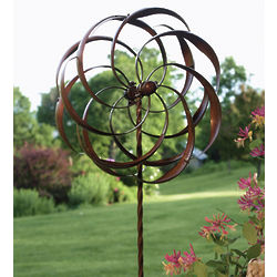 Staked Spinner Kinetic Sculpture