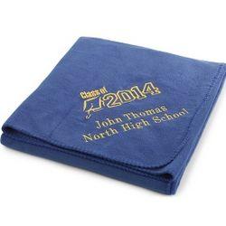 2014 Graduation Royal Fleece Blanket