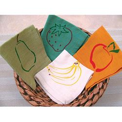 Children's Fruit Medley Napkins
