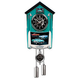 Ford Thunderbird Cuckoo Clock with Revving Sound