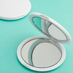 Perfectly Plain Compact Mirror Favors