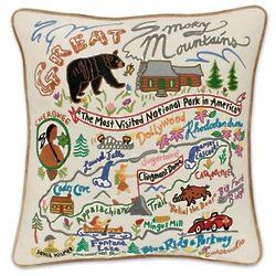 Great Smokey Mountains Pillow