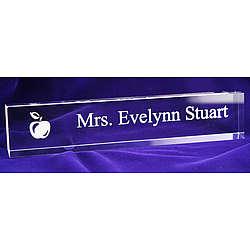 Teacher's Acrylic Nameplate