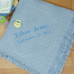 Embroidered Baby Afghan