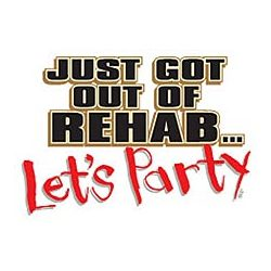 Rehab Let's Party T-Shirt