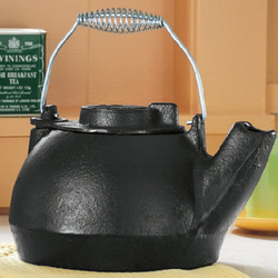 Cast Iron Teakettle