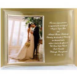 Personalized Wedding Invitation Frame