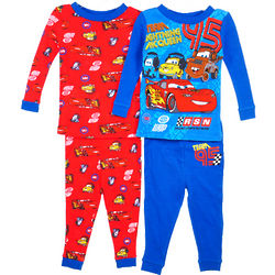 Disney Cars Team Lightning McQueen Pajama Set