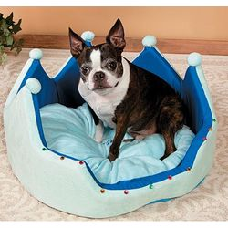 """Prince"" Plush Pet Bed"