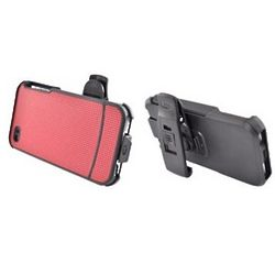 Iphone 4 Hard Case with Holster and Kickstand