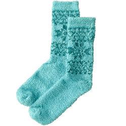 Women's Aloe Vera Snowflake Socks