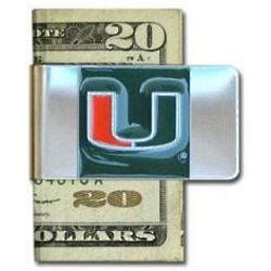 Large Miami Hurricanes Money Clip