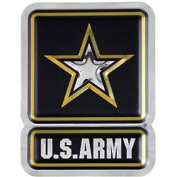 "US Army Star Logo 13"" Metal Art"