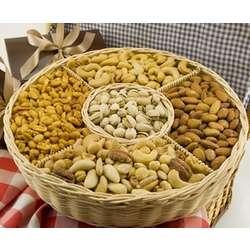 4.5 Pound Five Section Nut Basket