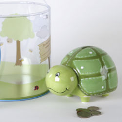 Marky the Turtle Penny Bank